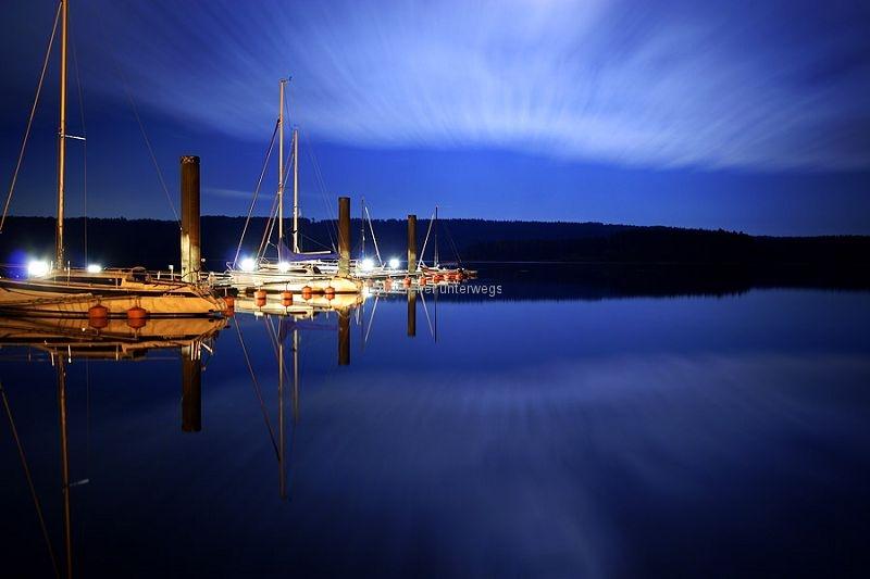 Ramsberger Hafen Sonnenuntergang