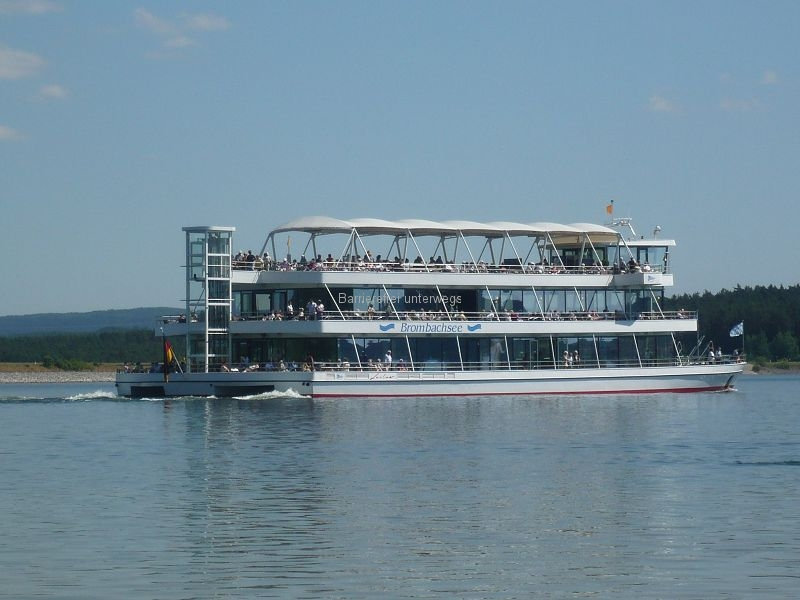 MS Brombachsee mit Panoramaaufzug