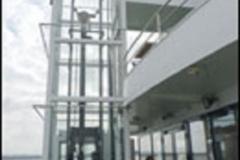 Aufzug auf der MS-Brombachsee