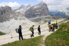 In den Dolomiten mit Rollstuhl