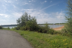 Am Brombachsee Radweg1